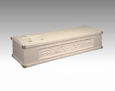 寝棺名称:双鳥(弐面彫刻)