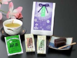 【返品可】緑茶 ようかんセット